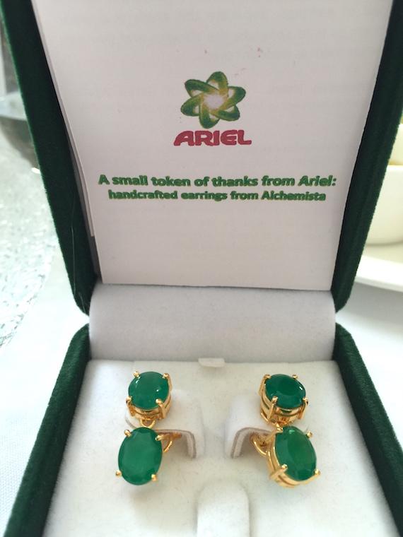 ariel alchemist earrings