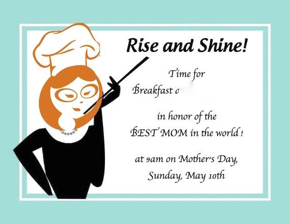 invitation GG mom breakfast