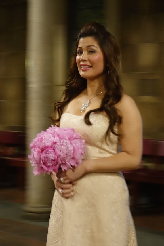 Ana The Maid of Honor at Ken and Faith's Wedding (4)