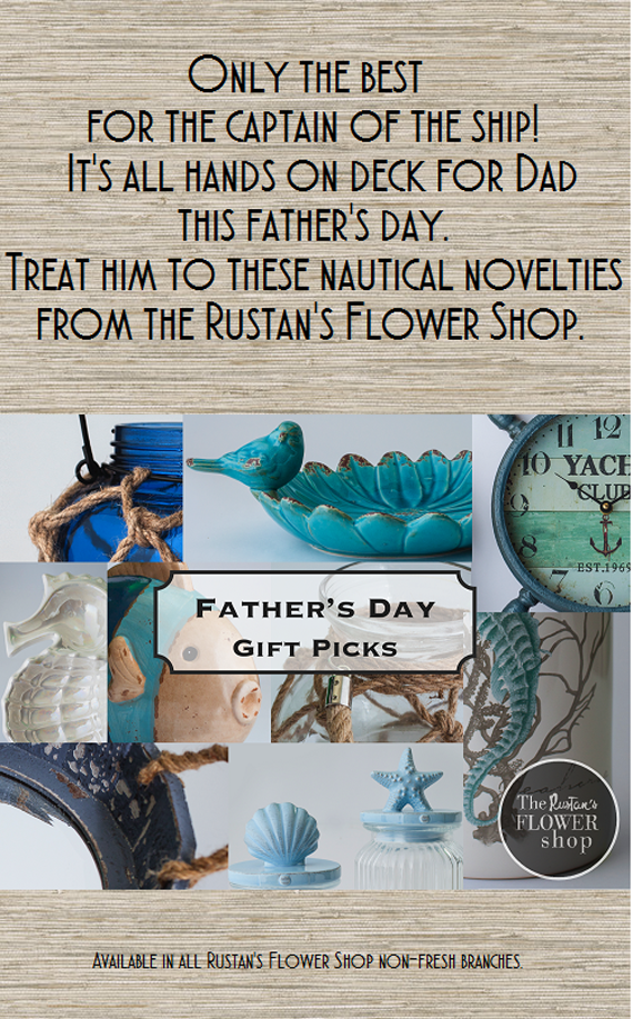 Going Nautical for Daddy this Father's Day Month