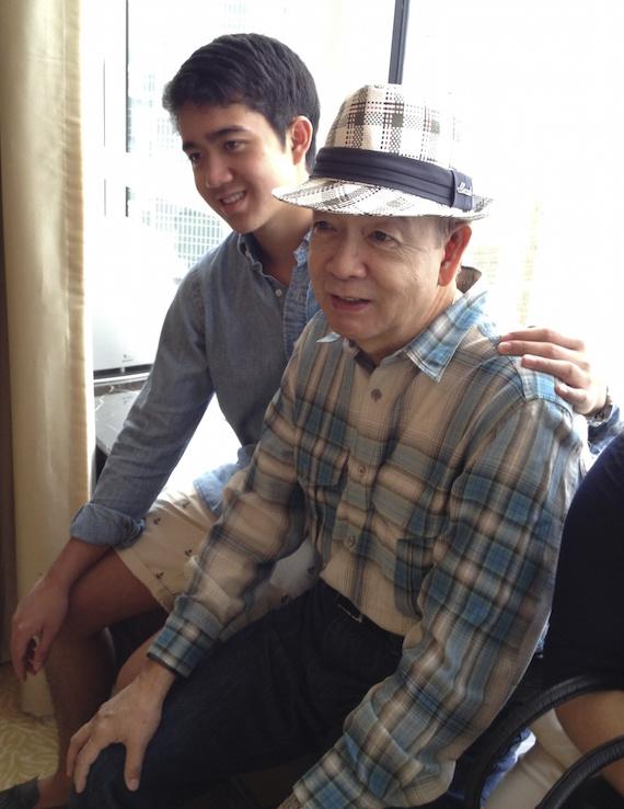 Lolo and Jaime HK