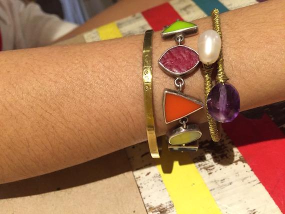 Arm Candy_ Val Lopez bracelets