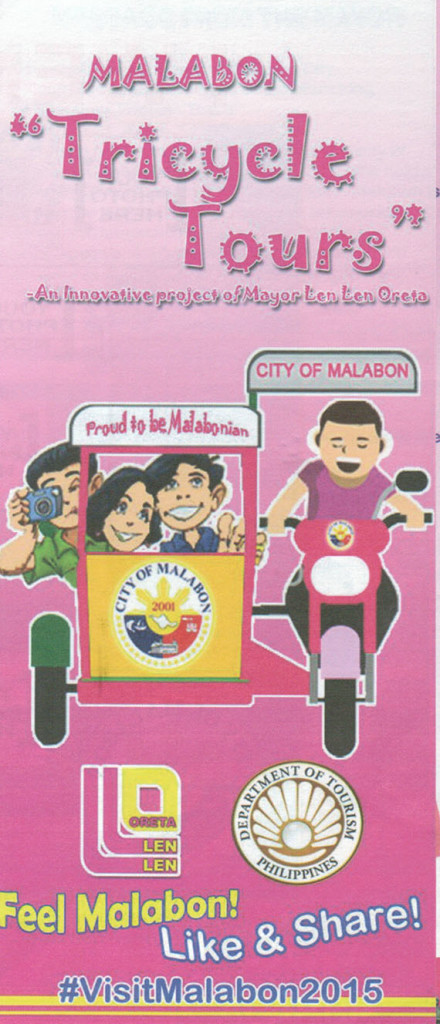 City of Malabon tricycle tour brochure(2)