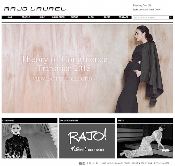 Rajo Laurel - The Official Site & Online Store   Home (20150806)