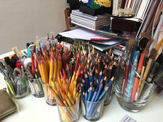 pencils rajo laurel