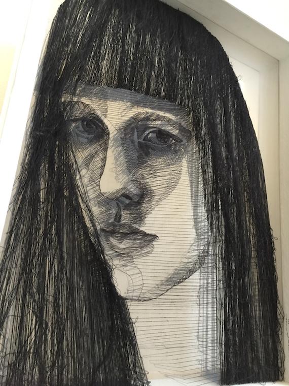 thread art at house of Laurel