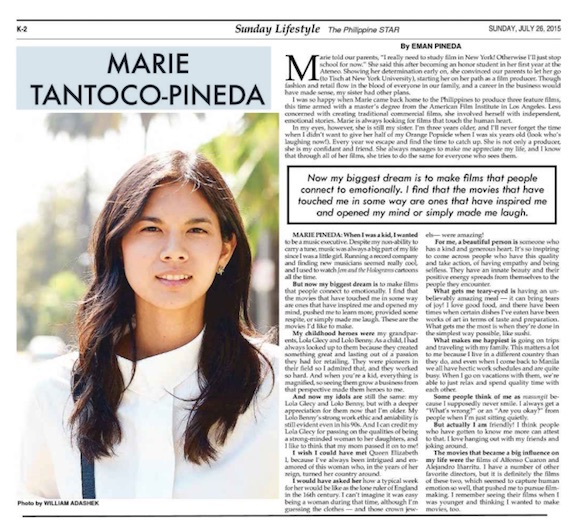Marie Pineda 29 most beautiful phil star
