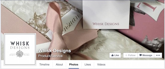 Whisk Designs Facebook page