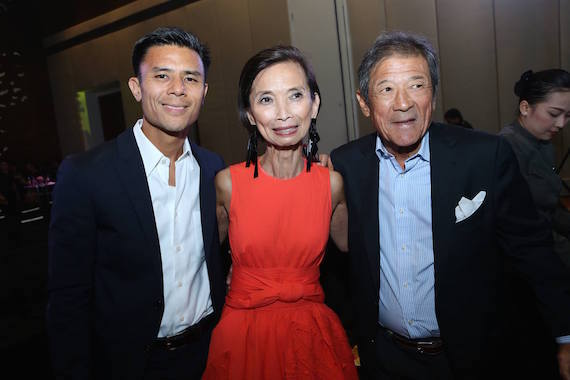 DOnnie Tantoco Josie Natori People Asia Women of Style and Substance 2015