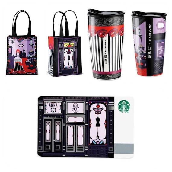 Anna Sui Starbucks