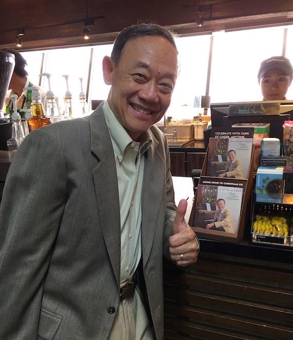 Jose Mari Chan at Starbucks Philippines