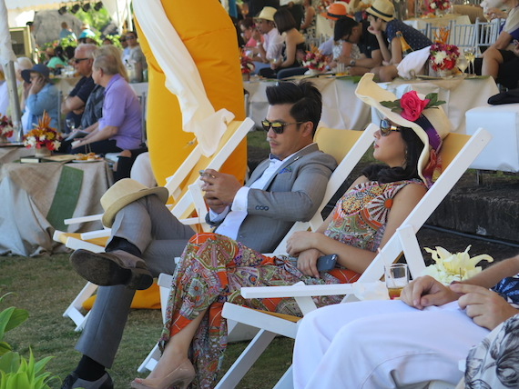 diether ocampo michelle barrera Global port polo 2015