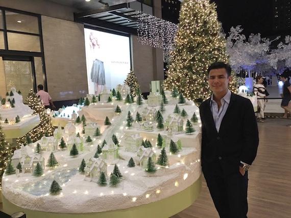 ADora Christmas village donnie tantoco