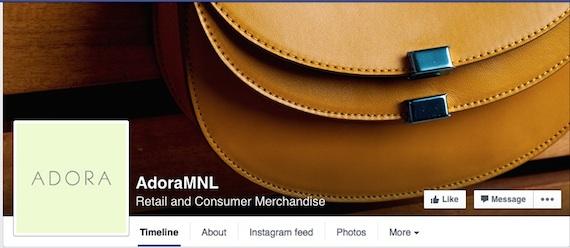 Adora facebook