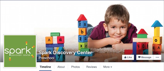 Spark Discovery Center Facebook