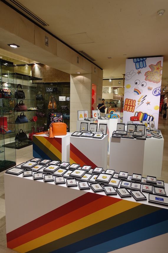Anya Hindmarch Sticker Shop (2)