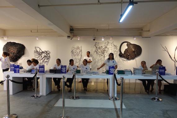 Art Fair 2016 reception