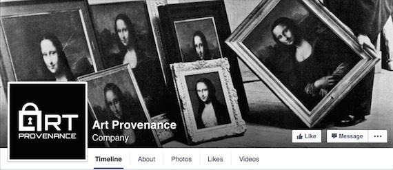 Art Provenance Facebook