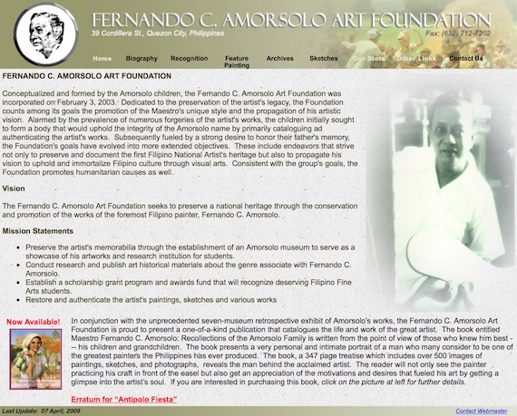 Fernando C. Amorsolo Art Foundation