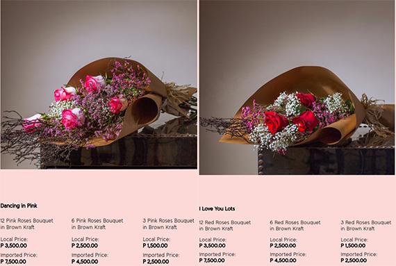 Rustan's Flower Shop Valentines (1)