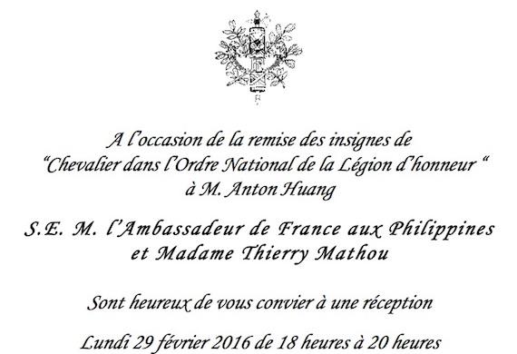 Chevalier dans l'Ordre National de la Legion d'honneur (2)