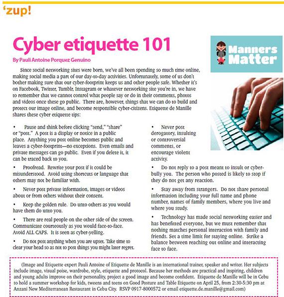 Dining Etiquette Activity (2)