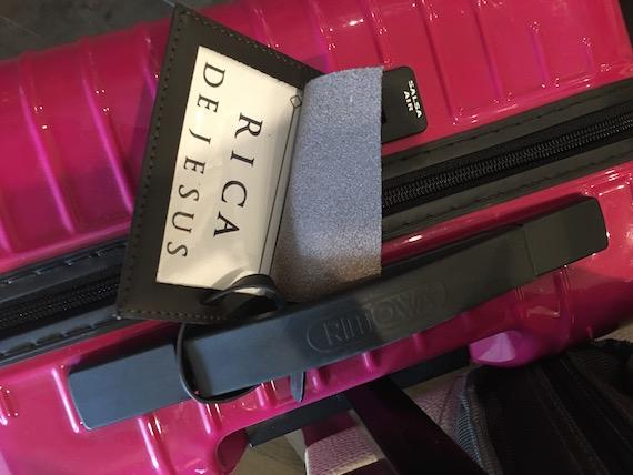 Discovery primea luggage tag
