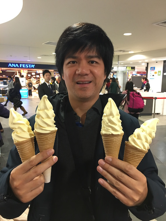 le tao cheese soft serve chitose nisekrew