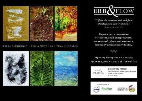 Ebb and flow invitation