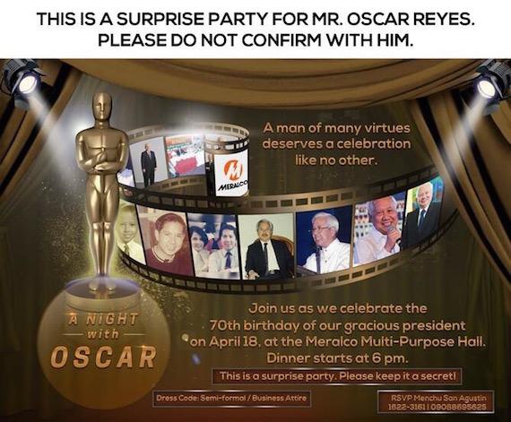 A night with Oscar (1)