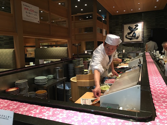 Sushi in Haneda Airport (15)
