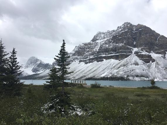 Bow Lake and Bow Summit at Banff (10)
