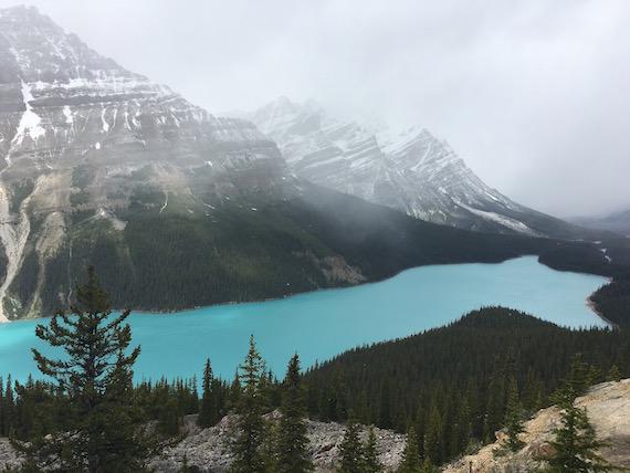 Bow Lake and Bow Summit at Banff (12)