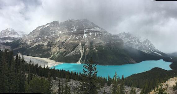 Bow Lake and Bow Summit at Banff (13)