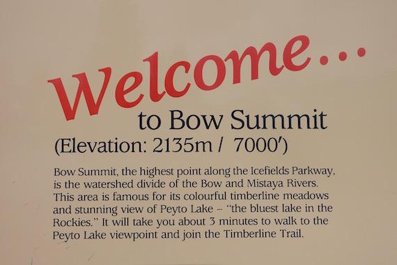 Bow Lake and Bow Summit at Banff (6)