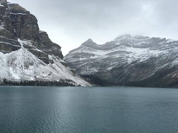 Bow Lake and Bow Summit at Banff (7)