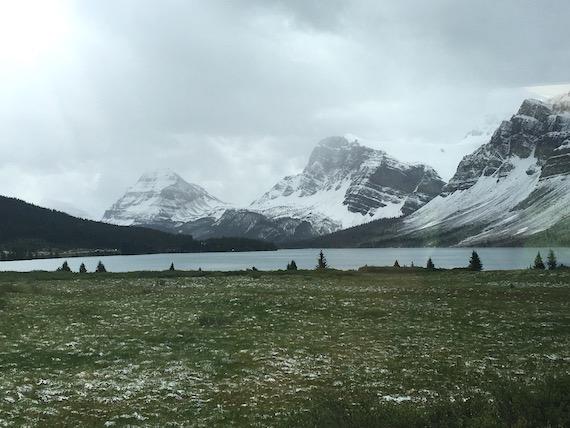 Bow Lake and Bow Summit at Banff (8)