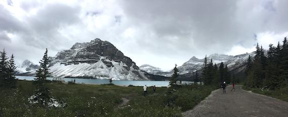 Bow Lake and Bow Summit at Banff (9)