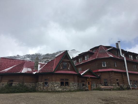 Bow Lake and Bow Summit at Banff