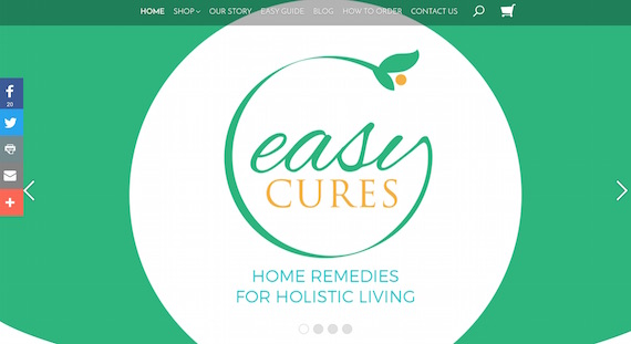 Easy Cures website