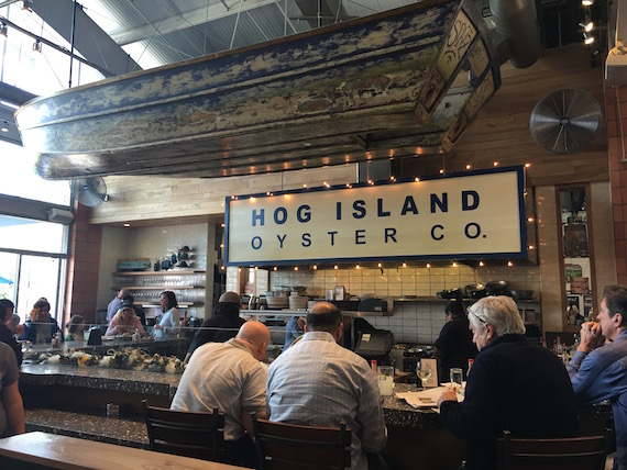 Hog Island Oyster Co. at the Ox Bow Market (1)