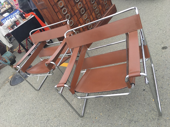 Shopping for Chairs at the Alameda Pointe Antique Faire (3)