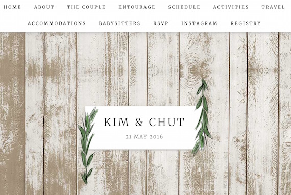 Til There Was You Kim and Chut Website Wedding