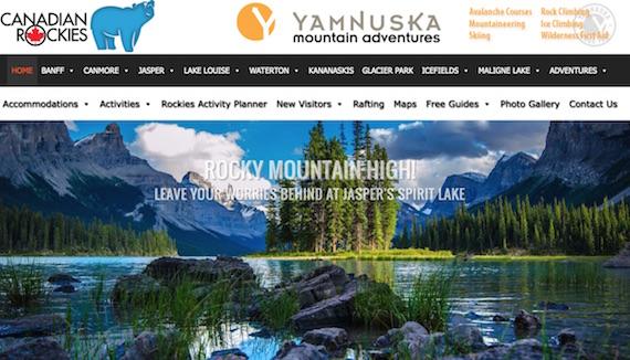 Canadian Rockies Website