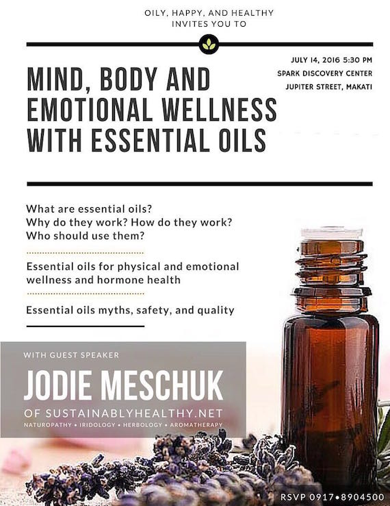 Mind, Body and Emotional Wellness with Essential Oils (4)