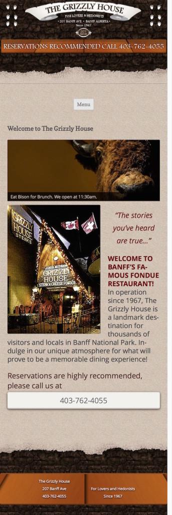 Banff's most unique restaurant homepage