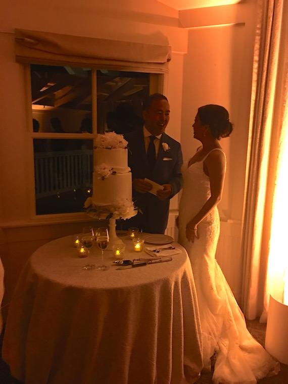 kim and chut wedding cake