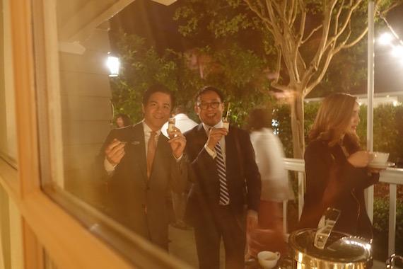 steve and james at kim and chuts wedding