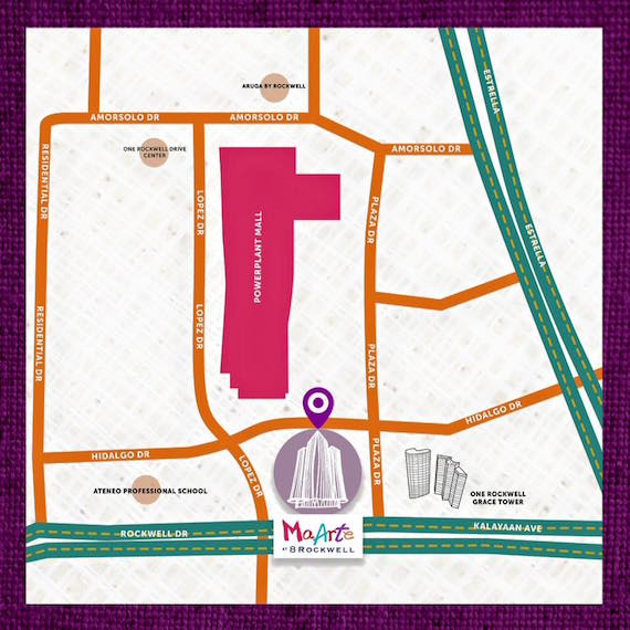 MaArte Fair 2016 Venue location map