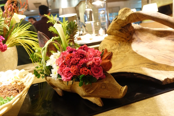 Manila Hotel Filipino Food Festival 2016 pepitas kitchen floral pig